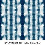 vector tie dye seamless pattern.... | Shutterstock .eps vector #657636760