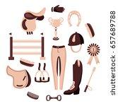 vector concept  set of... | Shutterstock .eps vector #657689788