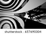 abstract white interior of the... | Shutterstock . vector #657690304