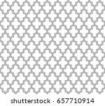 moroccan islamic seamless... | Shutterstock .eps vector #657710914