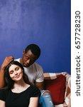 interracial relationship... | Shutterstock . vector #657728230