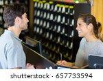 recreational area receptionist | Shutterstock . vector #657733594