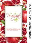 vector vertical banner with... | Shutterstock .eps vector #657740170