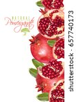 vector vertical banner with... | Shutterstock .eps vector #657740173