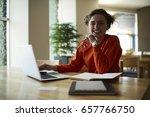 half length portrait of... | Shutterstock . vector #657766750