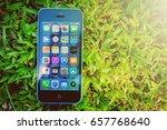tanah bumbu  indonesia   june 7 ... | Shutterstock . vector #657768640