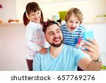 making selfie snap shot with... | Shutterstock . vector #657769276