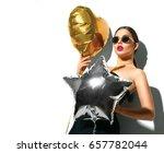 beautiful fashion model girl... | Shutterstock . vector #657782044