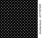 black and white polka dot... | Shutterstock .eps vector #657787009