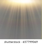 light flare special effect with ... | Shutterstock .eps vector #657799069