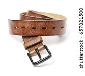 belts on a background. belts.... | Shutterstock . vector #657821500