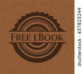 free ebook vintage wooden emblem