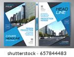 business brochure. flyer design.... | Shutterstock .eps vector #657844483