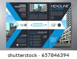 business brochure. flyer design.... | Shutterstock .eps vector #657846394