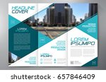 business brochure. flyer design.... | Shutterstock .eps vector #657846409