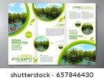 business brochure. flyer design.... | Shutterstock .eps vector #657846430