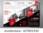 business brochure. flyer design.... | Shutterstock .eps vector #657851533