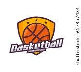 basketball logo  championship...   Shutterstock .eps vector #657857434