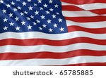 American Flag Render  Isolated...