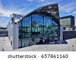 railway station  lodz  poland ... | Shutterstock . vector #657861160