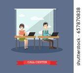 vector illustration of customer ... | Shutterstock .eps vector #657870838