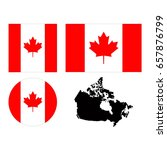 vector illustration of canada... | Shutterstock .eps vector #657876799