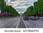 paris  france   may 13  2017 ... | Shutterstock . vector #657886993