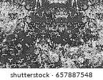 black and white vintage grunge... | Shutterstock . vector #657887548