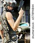futuristic special operation...   Shutterstock . vector #657894844