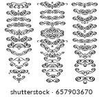 design elements.vector... | Shutterstock .eps vector #657903670