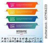 infographics design template... | Shutterstock .eps vector #657906223