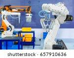 controller of industrial... | Shutterstock . vector #657910636