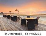Table Dinner On The Beach On...