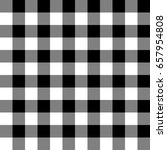 black and white checkered... | Shutterstock .eps vector #657954808