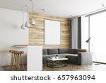 living room in a studio... | Shutterstock . vector #657963094