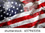 celebrating independence day.... | Shutterstock . vector #657965356