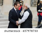 paris  france   june 3  2017  ...   Shutterstock . vector #657978733