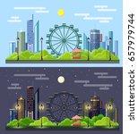 flat style modern design of... | Shutterstock .eps vector #657979744