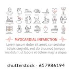 myocardial infarction line icon.... | Shutterstock .eps vector #657986194