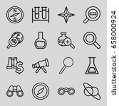 Discovery Icons Set. Set Of 16...
