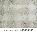abstract square pixel mosaic... | Shutterstock .eps vector #658003630