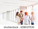 business people having... | Shutterstock . vector #658019530