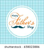 greeting card for father s day... | Shutterstock .eps vector #658023886