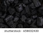 Coal Mineral Black As A Cube...