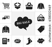 set of 12 editable trade icons. ...