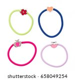 Colorful Hair Band Isolated On...