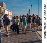 asbury park  nj usa    june 11  ... | Shutterstock . vector #658055530