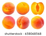 Apricot Isolated. Collection O...