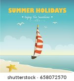 summer background | Shutterstock .eps vector #658072570