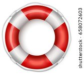 lifebuoy | Shutterstock .eps vector #658072603